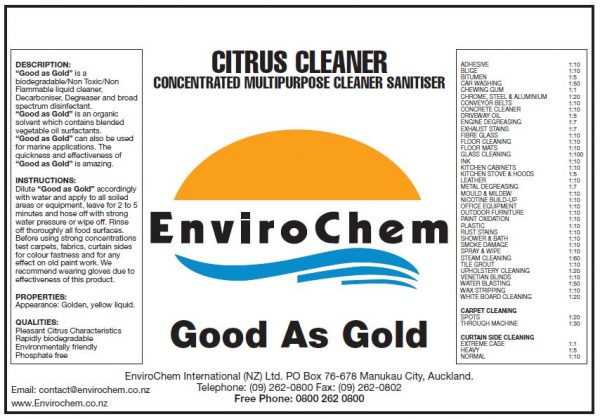 Good as Gold EnviroChem