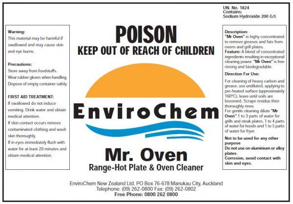 Mr Oven EnviroChem