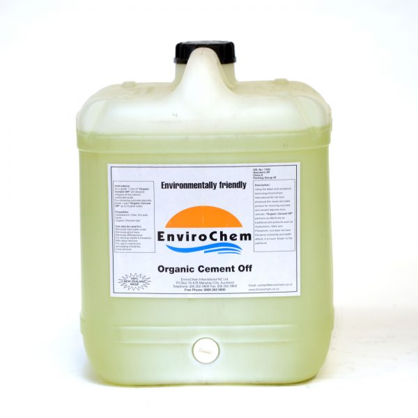 Organic Cement Off