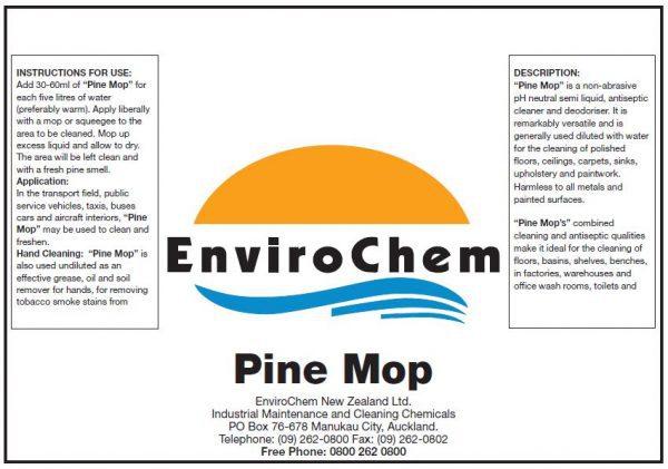 Pine mop