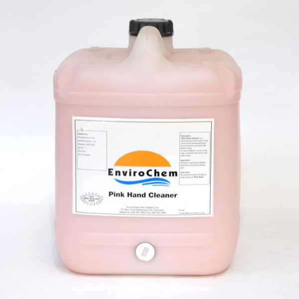 Pink Hand Cleaner