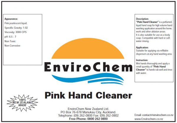 PinkHandCleaner