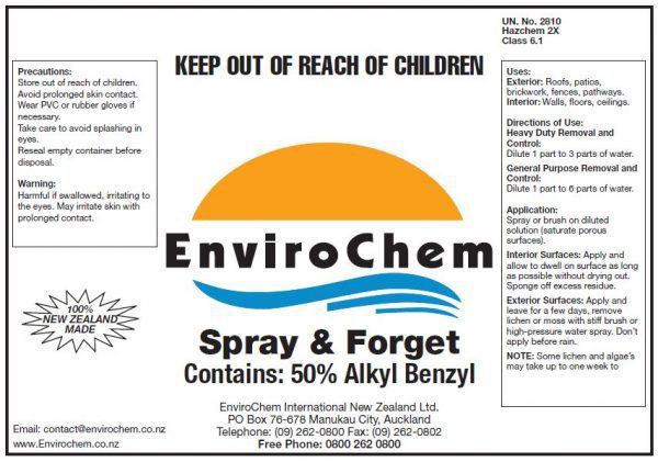 Spray And Forget EnviroChem